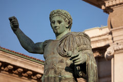 Monument to Roman emperor Constantine I Royalty Free Stock Images