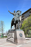 Monument to Russian commander Pyotr Bagration Stock Photography