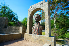 Monument to the Russian commander A. V. Suvorov. Royalty Free Stock Images