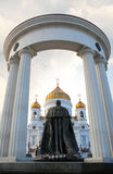 Monument to Russian Emperor Alexander II Royalty Free Stock Images