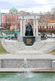 Monument to Russian Emperor Alexander II Stock Images