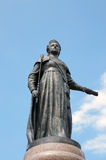 A monument to the russian empress catherine Stock Photo