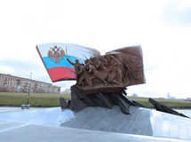 Monument to Russian heroes and soldiers who died in World War I Stock Photography