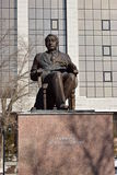 Monument to the Russian historian Gumilyov in Astana Royalty Free Stock Image