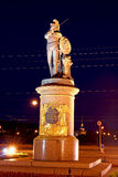 Monument to Russian military leader Alexander Suvorov in St. Pet Stock Photo