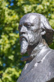 Monument to Russian Poet Nekrasov Royalty Free Stock Photography