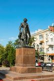 Monument to the Russian poet Pushkin Royalty Free Stock Photo