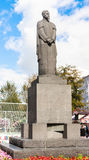 Monument to Russian scientist, naturalist Timiryazev at Tver Boulevard. Moscow Stock Image