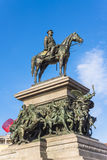 Monument to Russian Tsar Alexander II Stock Image