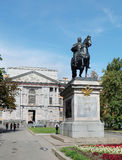 Monument to the Russian tsar Peter the Great, St. Petersburg Stock Photos