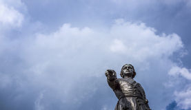 Monument to russian tzar Peter the Great. Monument to famous russian tzar Peter the Great Stock Images