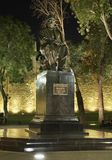 Monument  to Sabir in Baku. Azerbaijan.  Stock Images