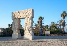 Monument to sacrifice of Abraham Royalty Free Stock Image