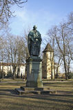 Monument to Sailer in Regensburg. Bavaria. Germany Stock Image