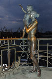 Monument to sailor's wife in Odessa Stock Image