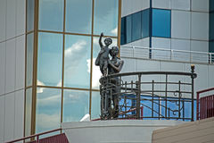 Monument to the sailor`s wife. Royalty Free Stock Photos