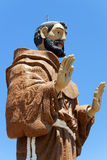 Monument To Saint Francis In Caninde, Brazil Royalty Free Stock Photography