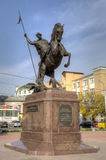 Monument to the Saint Great martyr Georges the Victorious (2012). Stock Images