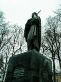 Monument to Saint Lawrence of Kaluga in Kaluga in Russia. Stock Image