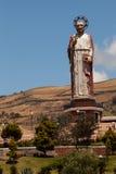 Monument to Saint Peter in Alausi, Ecuador Royalty Free Stock Image