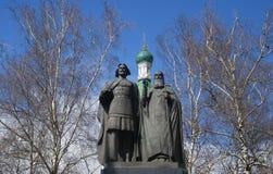 Monument to Saint Prince George Vsevolodovich Stock Image