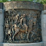 Monument to Saint Prince Vladimir. Royalty Free Stock Images