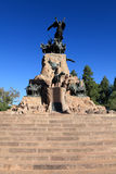 Monument to san mertin,argentina Stock Photography