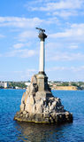 Monument to the scuttled ships Stock Images