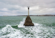 Monument to the Scuttled Ships Royalty Free Stock Photo