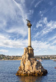Monument to the scuttled ships. Sevastopol, Crimea, Royalty Free Stock Images