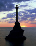 The Monument to the Scuttled Ships Royalty Free Stock Photo