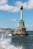 Monument to the Scuttled Warships in Sevastopol Stock Photo