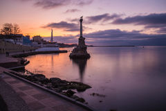 Monument to the Scuttled Warships in Sevastopol Stock Photos