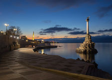 Monument to the Scuttled Warships in Sevastopol Royalty Free Stock Image