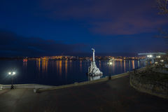 Monument to the Scuttled Warships in Sevastopol Stock Image