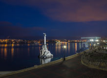 Monument to the Scuttled Warships in Sevastopol Royalty Free Stock Images