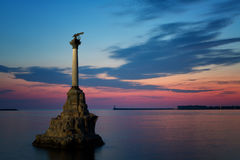 Monument to the Scuttled Warships Stock Images