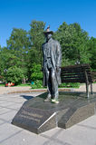 Monument to Sergei Rachmaninoff, Royalty Free Stock Photography