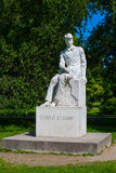 Monument to Sergei Yesenin in St. Petersburg. Royalty Free Stock Photography