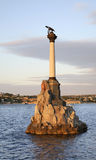 Monument to ships scuttled  in Sevastopol. Ukraine Royalty Free Stock Images