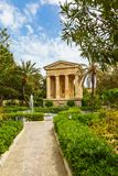 Monument to Sir Alexander Ball. In the Lower Barrakka Gardens, Valletta, Malta Stock Images