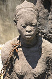 Monument to slaves in Zanzibar. STONE TOWN TANZANIA NOV. 23: Monument to slaves in Zanzibar.Slave auction was held near this location for many years on nov. 23 Royalty Free Stock Image