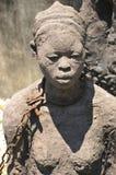 Monument to slaves in Zanzibar Royalty Free Stock Image