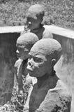 Monument to slaves in Zanzibar Stock Photography