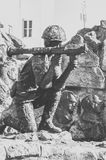 Monument to the soldiers-afghans Stock Photo
