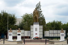 The monument to the soldiers fallen in the great Patriotic war. Royalty Free Stock Photos