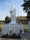The monument to soldiers who died in World War 2 in the Kaluga region. Stock Photography
