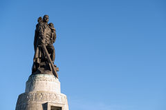 Monument to a Soviet soldier Royalty Free Stock Photo