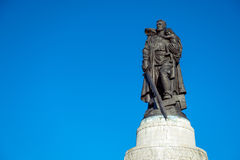 Monument to a Soviet soldier Royalty Free Stock Photography