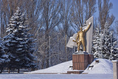 Monument to Soviet soldiers-liberators Royalty Free Stock Images
